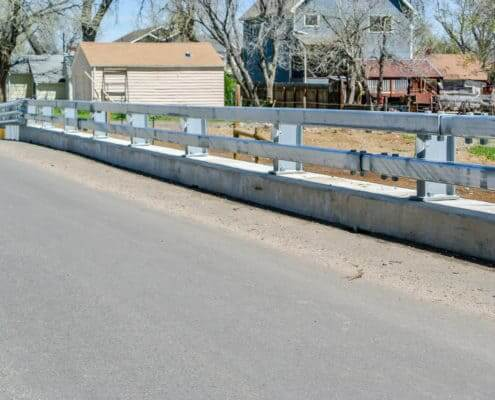Ideal Fencing - Bridge Rail-4834