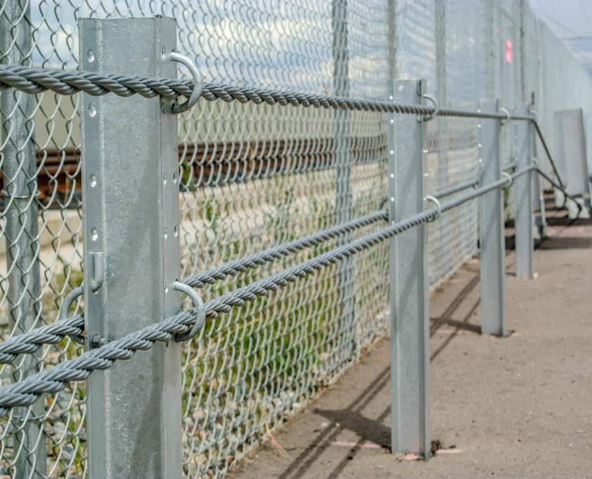 Ideal Fencing - Cable Barrier-4840