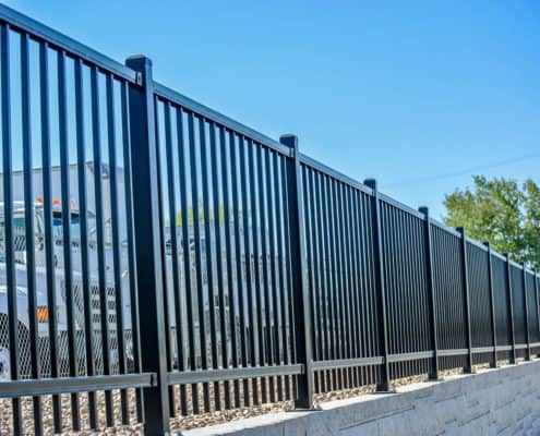 Ideal Fencing - Ornamental Iron Fencing-4866