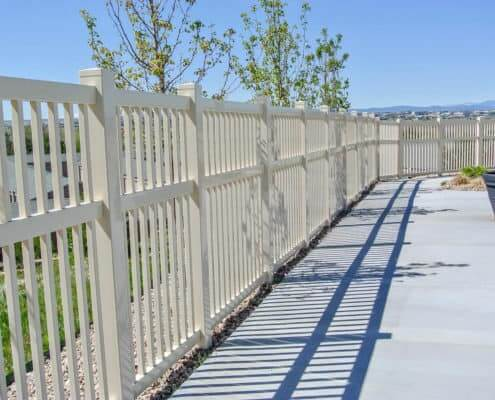 Ideal Fencing - PVC Fencing-4901