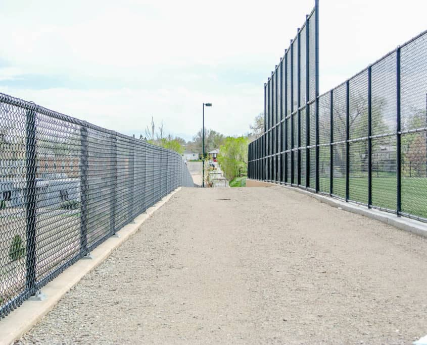 Ideal Fencing - Chainlink Fencing-4803
