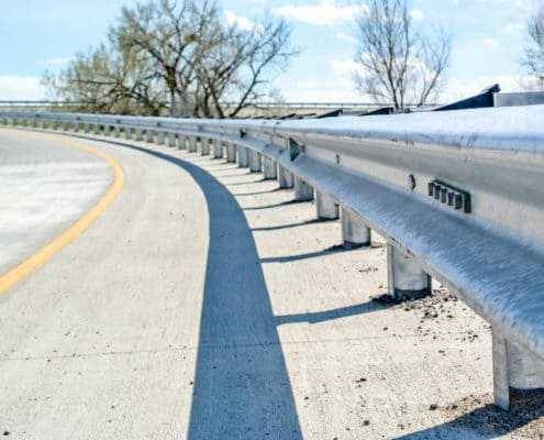 Ideal Fencing - W-Beam Guardrail-4809