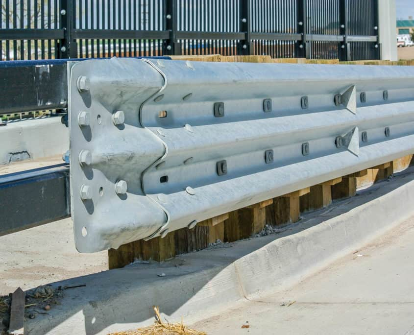 Ideal Fencing - W-Beam Guardrail-4820