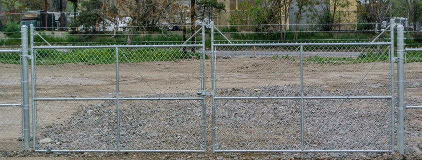 Swing Gate Ideal Fencing - Custom Fence Fabrication-4847