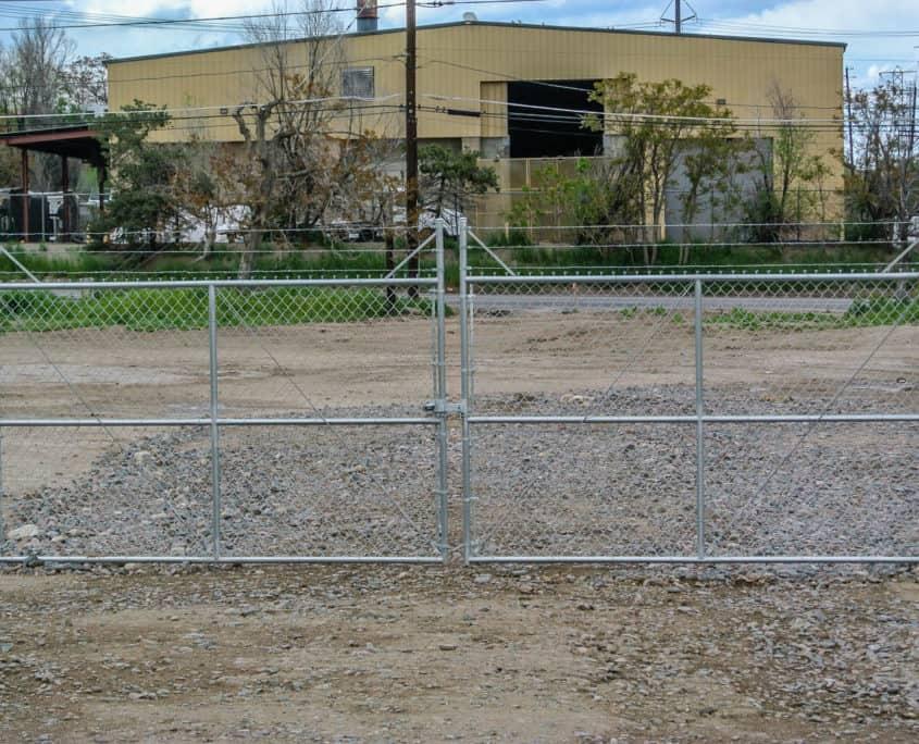 Swing Gate Ideal Fencing - Custom Fence Fabrication-4847