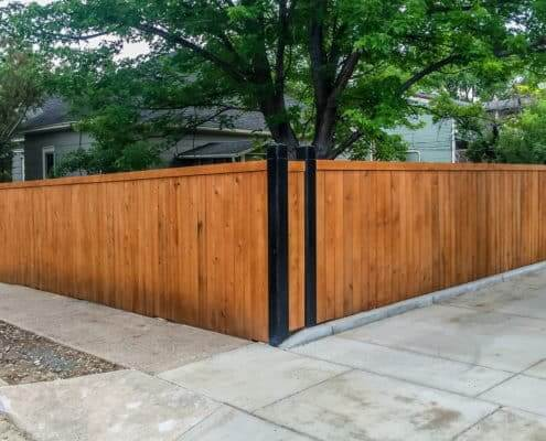 Privacy Wood-Fence Ideal Fencing